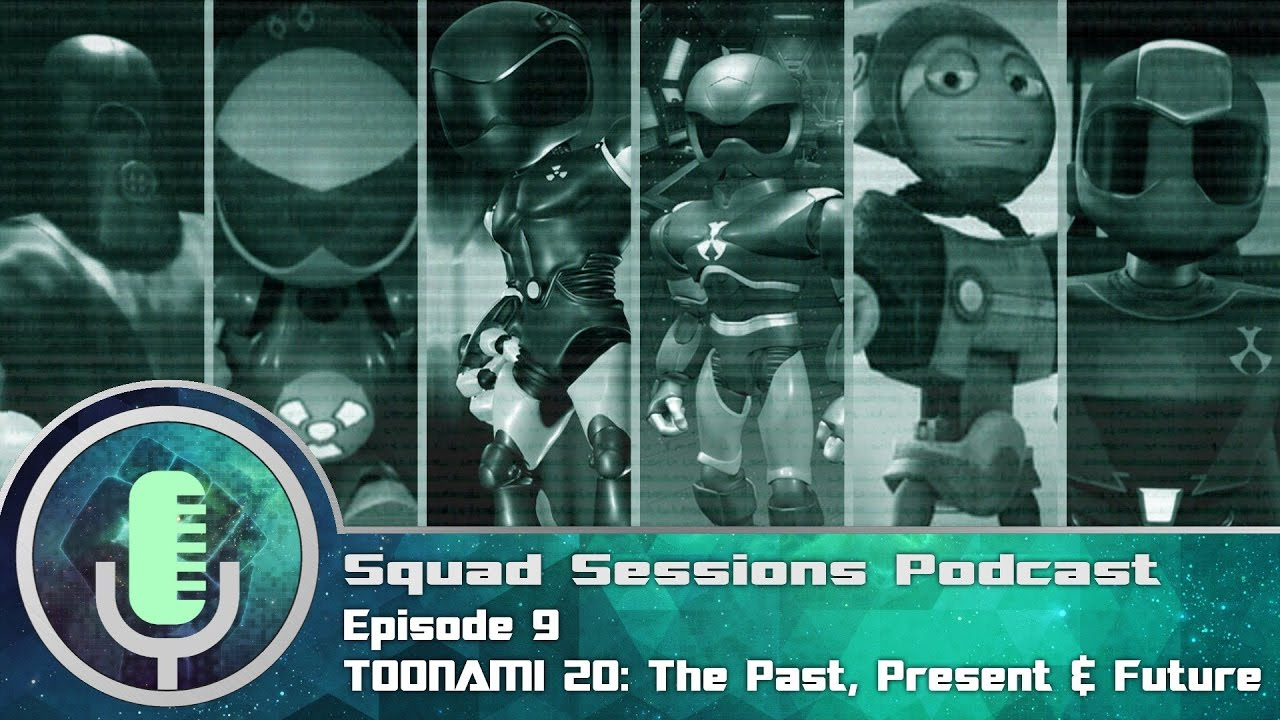 Toonami Squad Podcast Sessions Episode 9: Toonami's 20 yrs old, The Past, Present, Future